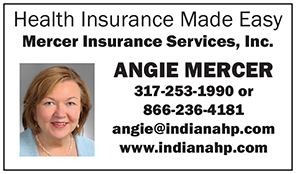 Ad for Angie Mercer Insurance
