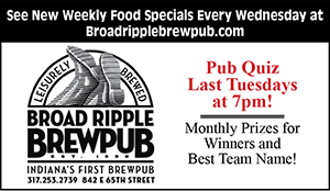 Ad for Broad Ripple Brewpub