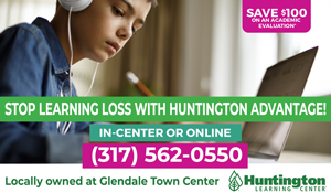 Ad for Huntington Learning Center