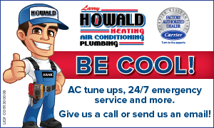 Ad for Howald Heating & Air