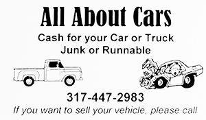 Ad for Cash for Cars